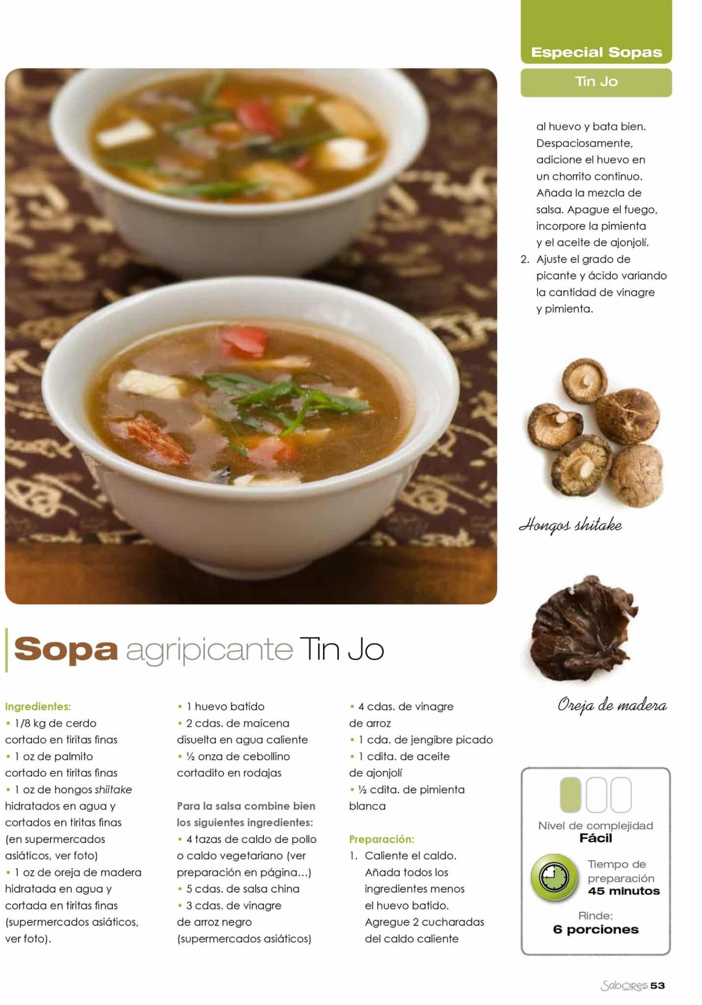 Thai Recipes From Sabores Magazine Spanish Tin Jo Restaurant # Muebles Urgelles