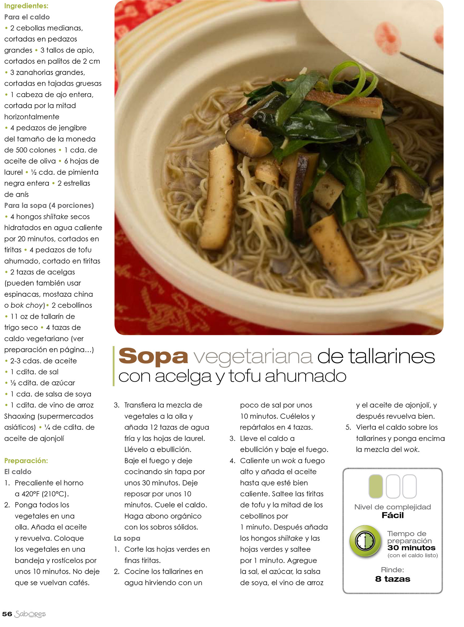 Thai Recipes From Sabores Magazine Spanish Tin Jo Restaurant # Muebles Urgelles